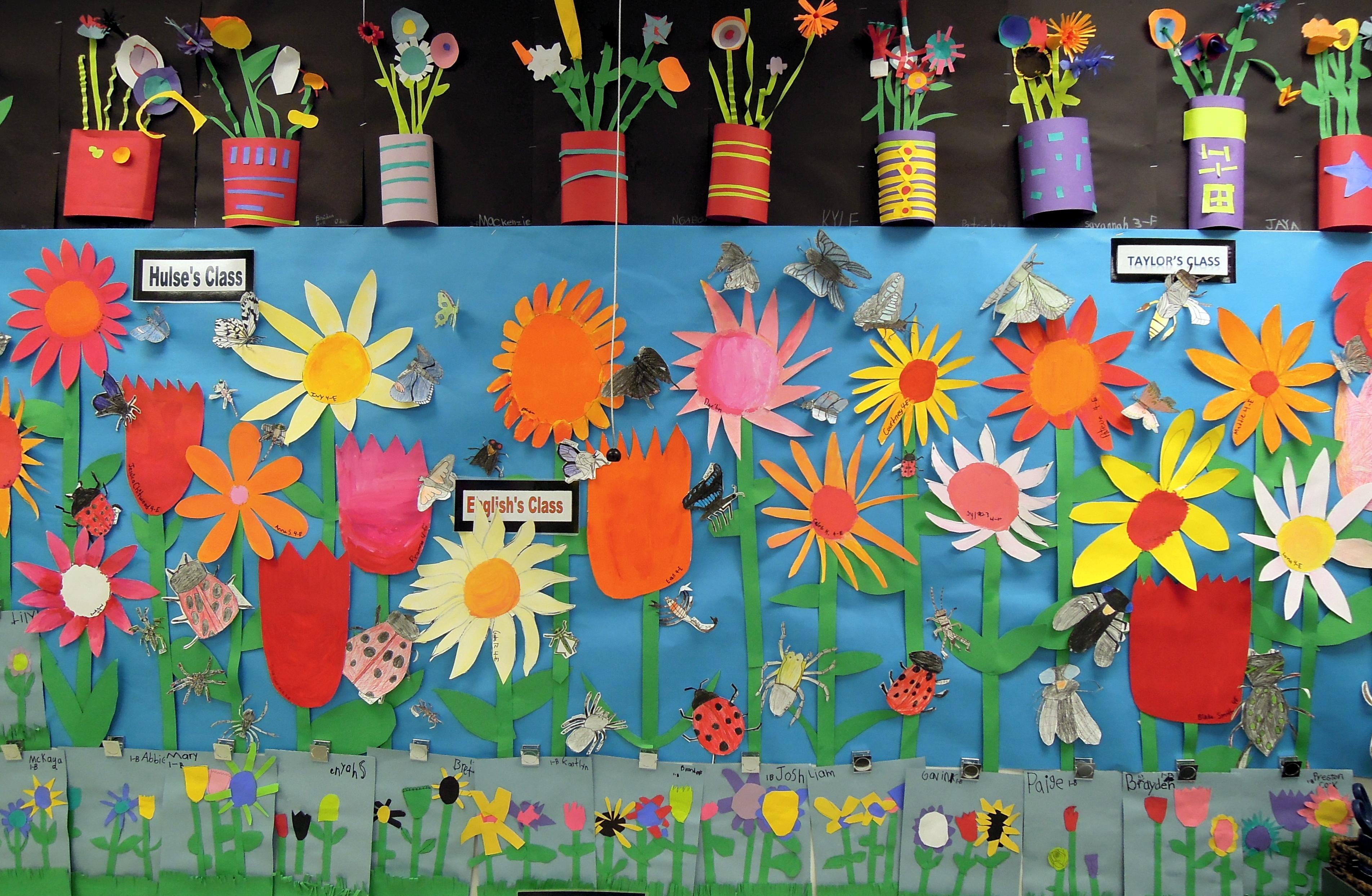 Bugs And Blooms A Little Peek At My Day Job Garden Art Preschool
